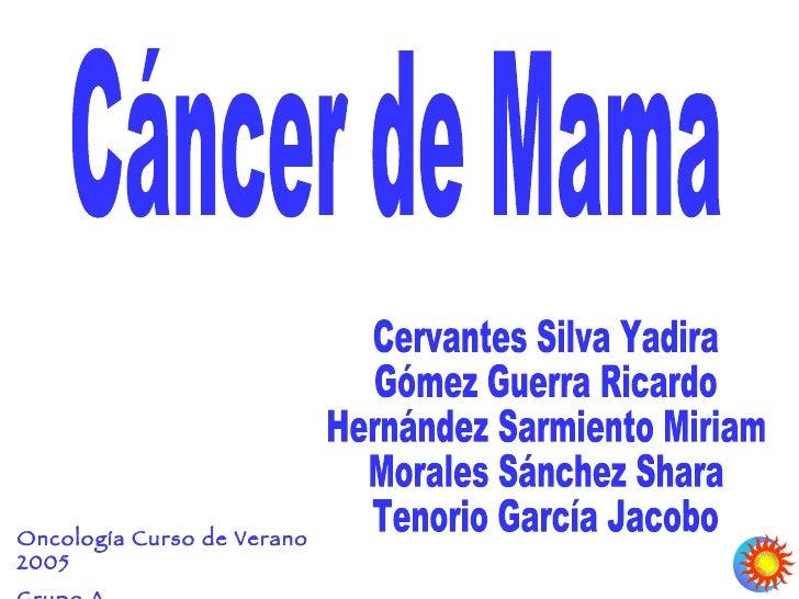 Oncología Curso de Verano 2005