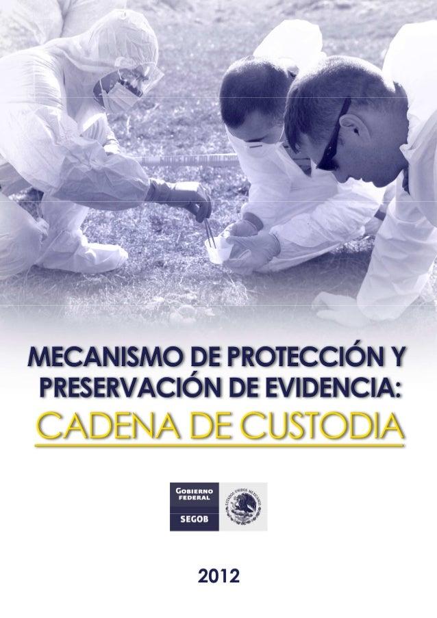 PROTOCOLO CADENA DE CUSTODIA