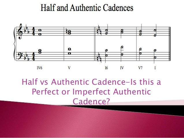 Cadence Bass Notes - Ultimate Music Theory
