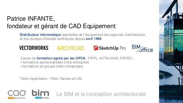 Jedisbim 12012017 Bim Conception Architecturale