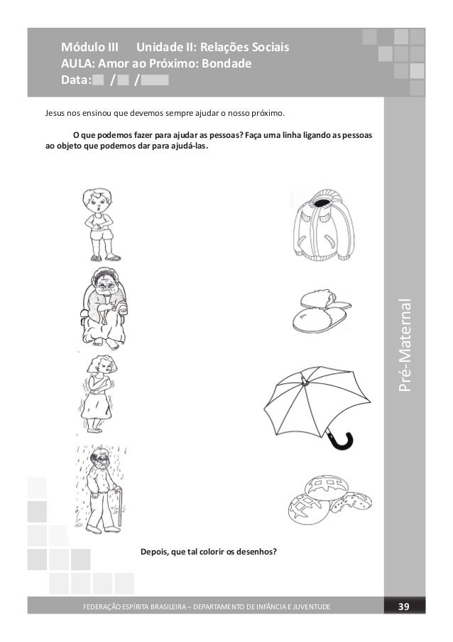 caderno de atividades pre maternal completo