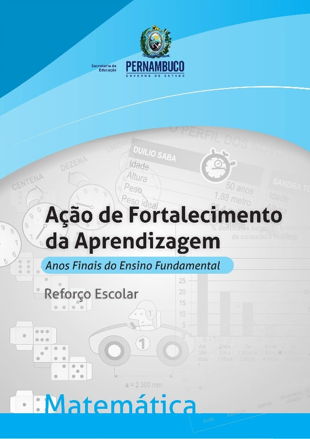 Conhecido Caderno 1 de atividades de pernambuco reforço mat. BI02