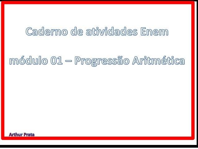 Caderno de atividades p.a.   módulo 1 unidade 4