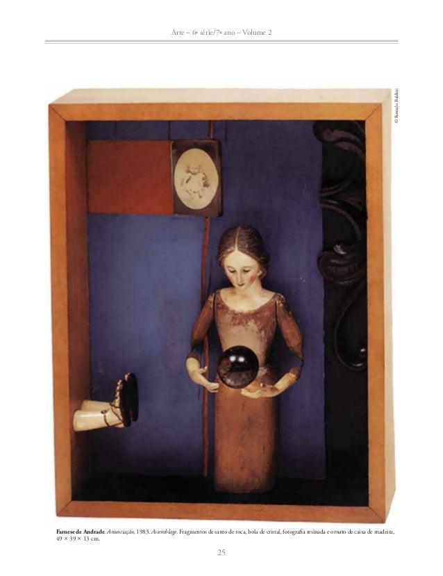 Arte – 6a série/7o ano – Volume 2  26  © Nelson Leirner  Nelson Leirner. Figurativismo abstrato, 2004. Adesivos sobre made...
