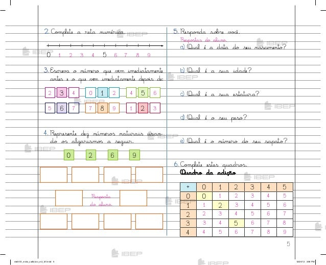 Caderno Do Futuro 3 Ano Matematica Download Grtis