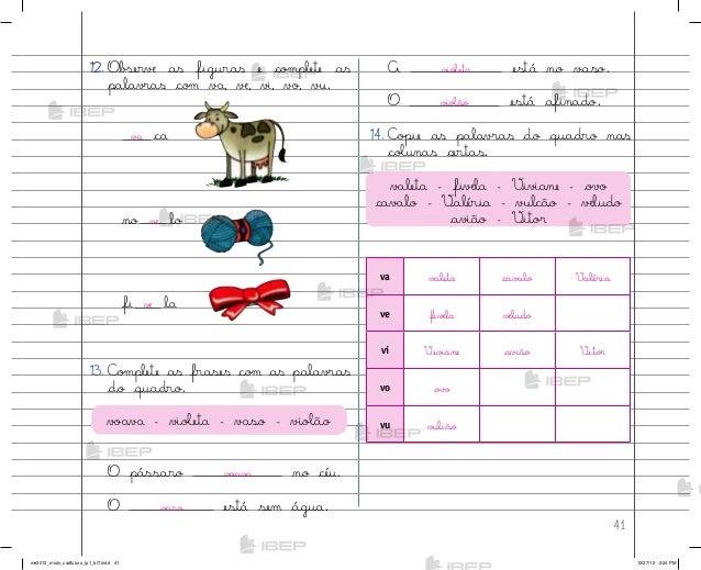 Caderno Do Futuro De Língua Portuguesa Para O Professor 1º Ano Do