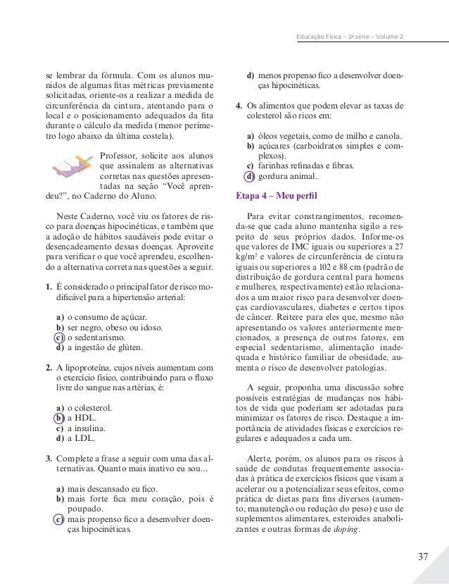 Educação Física 2ª Série Ensino Médio