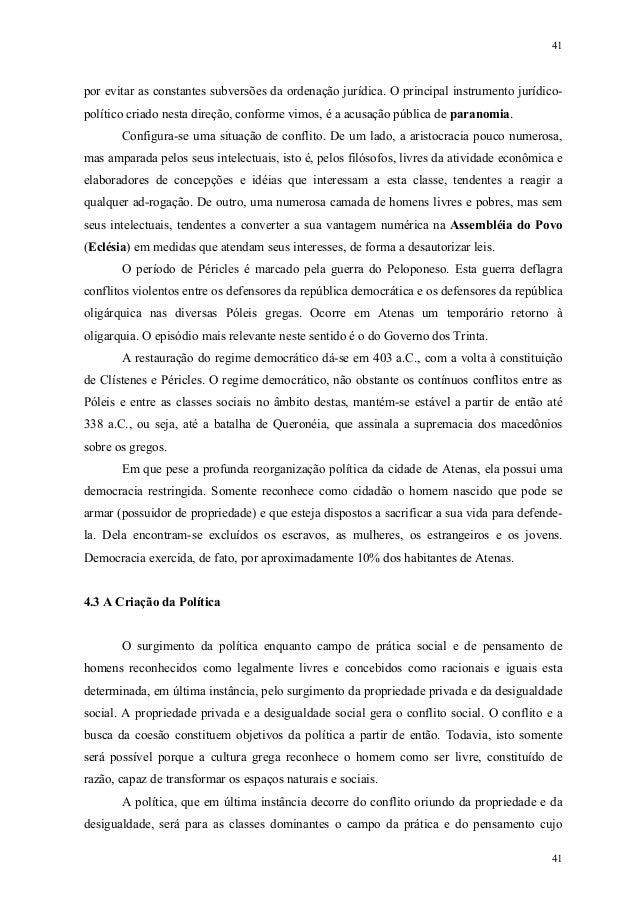 41 41 por evitar as constantes subversões da ordenação jurídica. O principal instrumento jurídico- político criado nesta d...