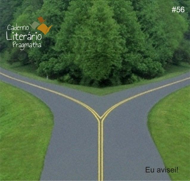 Caderno literario pragmatha 56 abril 2014