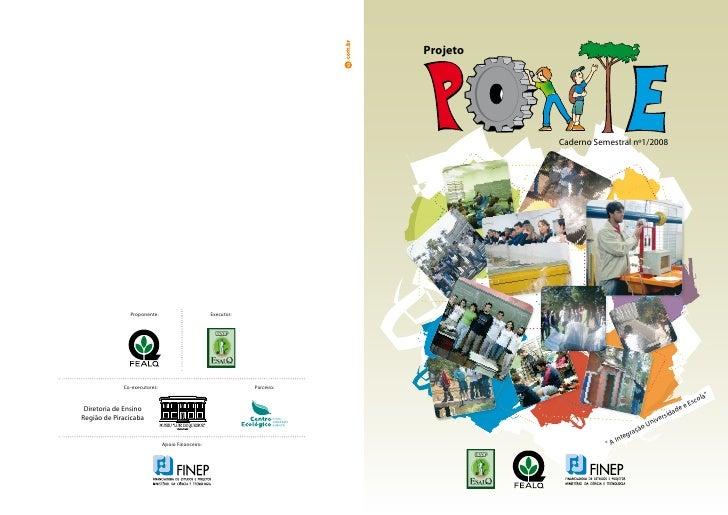 Projeto                                                                                    Caderno Semestral nº1/2008     ...