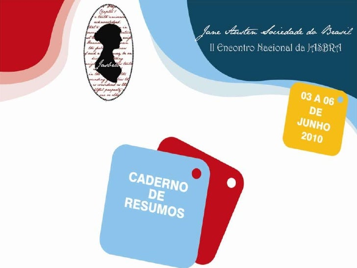 Cadernos de resumos da JASBRA  2010