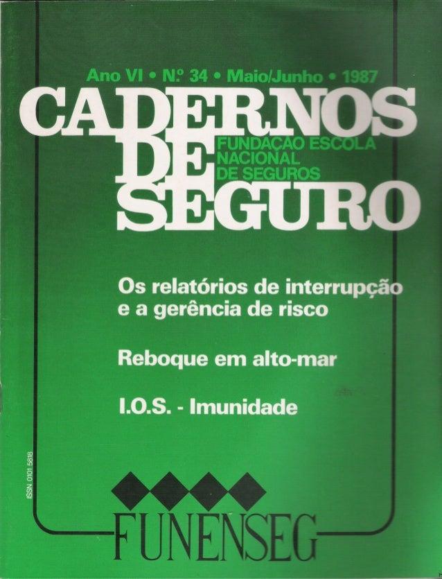 o seguro e a segurança patrimonial 4~ parte Antonio Fernando Navarro ·Engenheiro civil ·Engenheiro de Segurança do Trabalh...