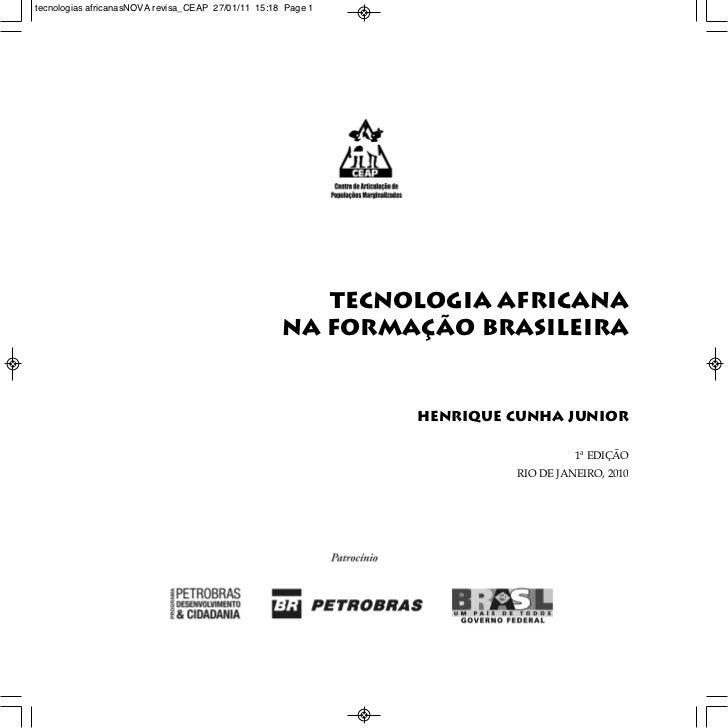 tecnologias africanasNOVA revisa_CEAP 27/01/11 15:18 Page 1                                                       Tecnolog...
