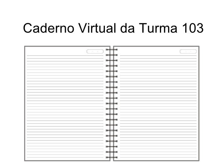 Caderno Virtual da Turma 103