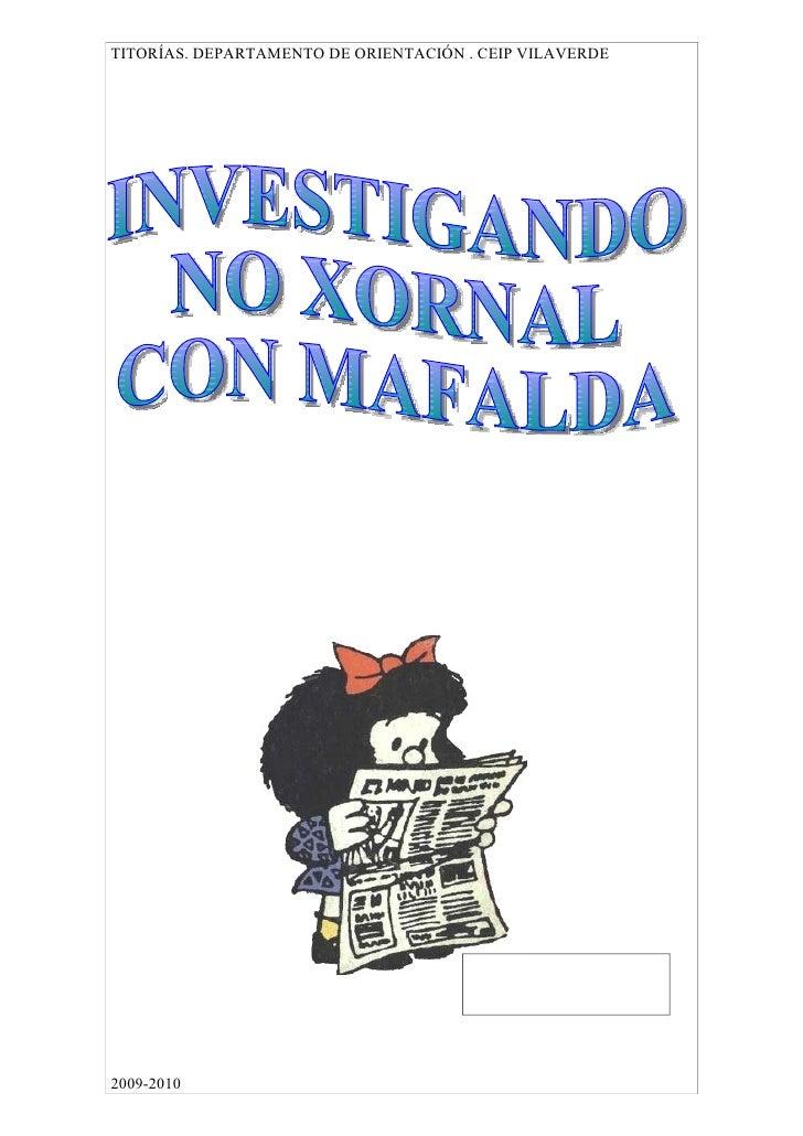 TITORÍAS. DEPARTAMENTO DE ORIENTACIÓN . CEIP VILAVERDE     2009-2010