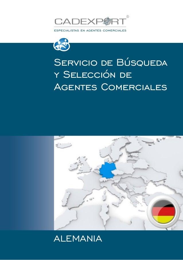 Servicio de Búsqueda y Selección de Agentes Comerciales  ALEMANIA