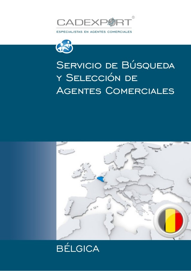 Servicio de Búsqueda y Selección de Agentes Comerciales  BÉLGICA