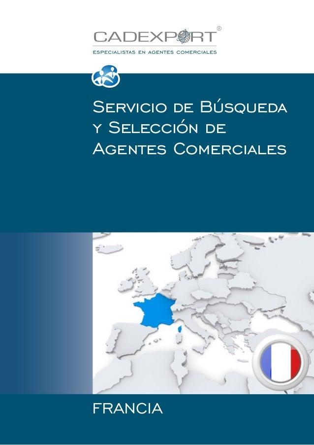 Servicio de Búsqueda y Selección de Agentes Comerciales  FRANCIA