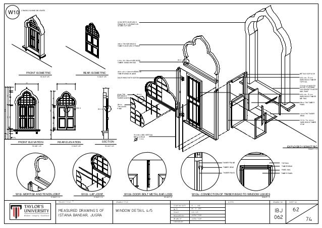 Cad Drawings Methods Of Documentation And Measured Drawing