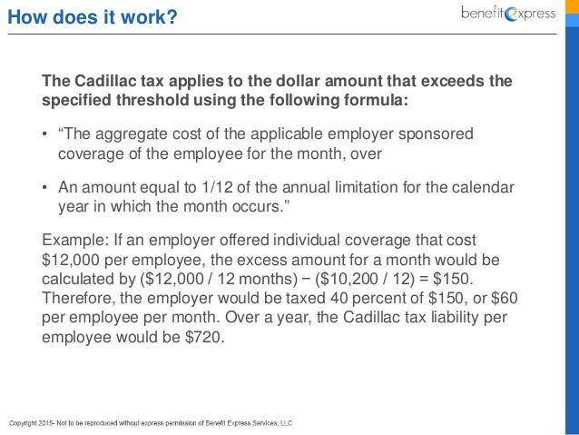 Cadillac Tax for Employers 101 - How to Avoid Penalties?