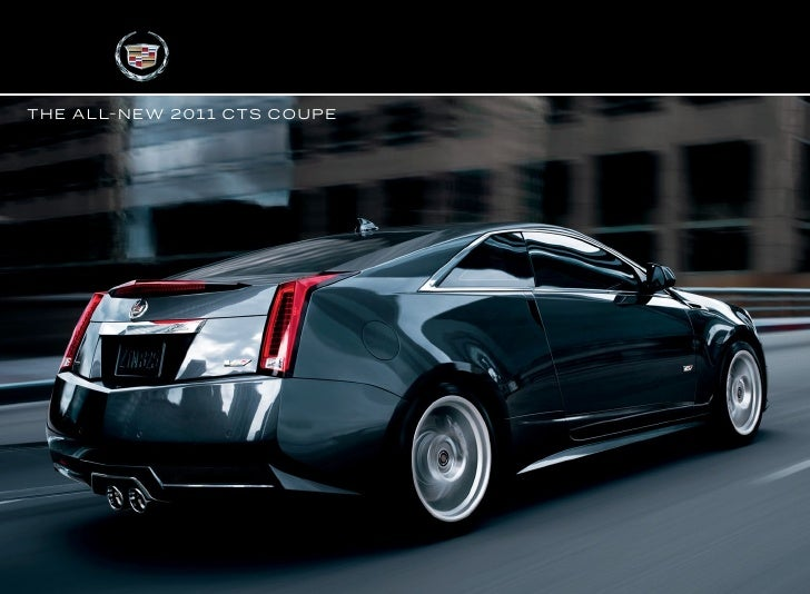 2011 cadillac cts coupe and cts v coupe roe motors grants pass rh slideshare net 2010 Cadillac CTS Coupe 2012 cadillac cts coupe owners manual