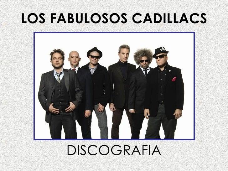 LOS FABULOSOS CADILLACS DISCOGRAFIA