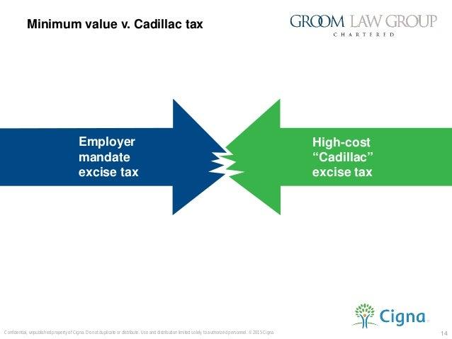 2018 cadillac tax limits. interesting 2018 standard 14 minimum value v cadillac tax 14confidential for 2018 cadillac limits