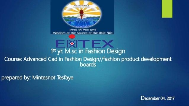 Fashion Boards Product Development