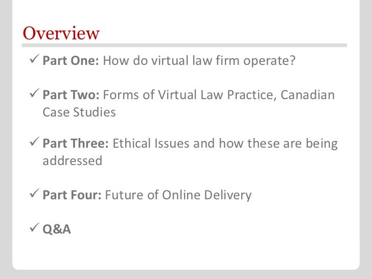 Keynote on Future of Legal Services Delivery Slide 2