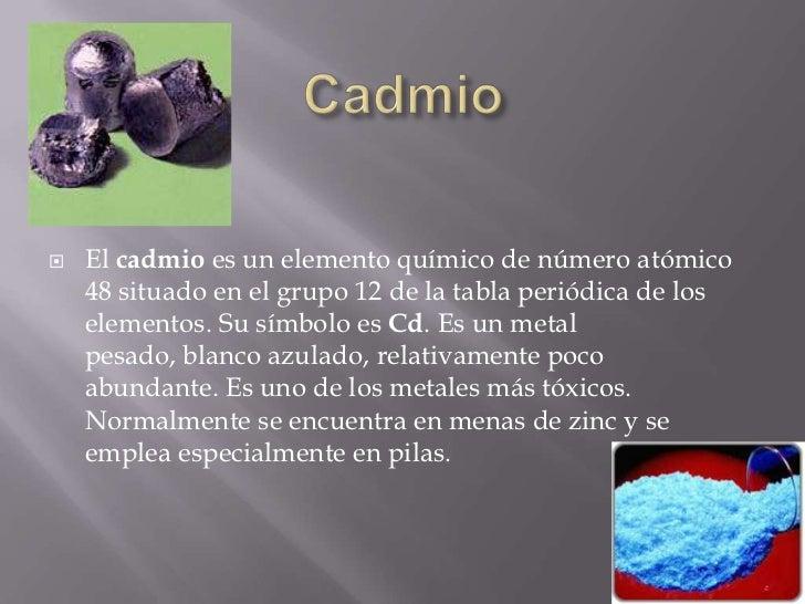 Cadmio - En que alimentos se encuentra zinc ...