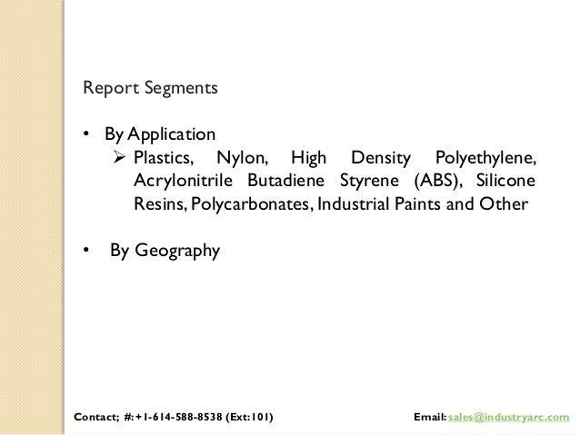 Cadmium pigment market: Asia-Pacific is the largest market during 2016-2021 Slide 2