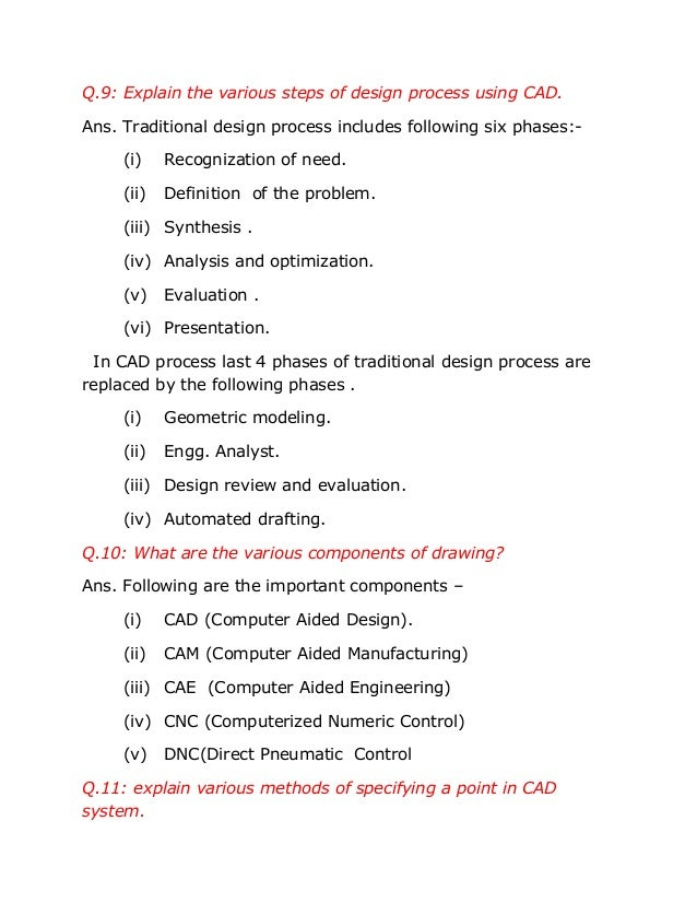 computer aided design package essay What is computer­aided design quite simply, cad programs are software like any software package, support and updates are very important.