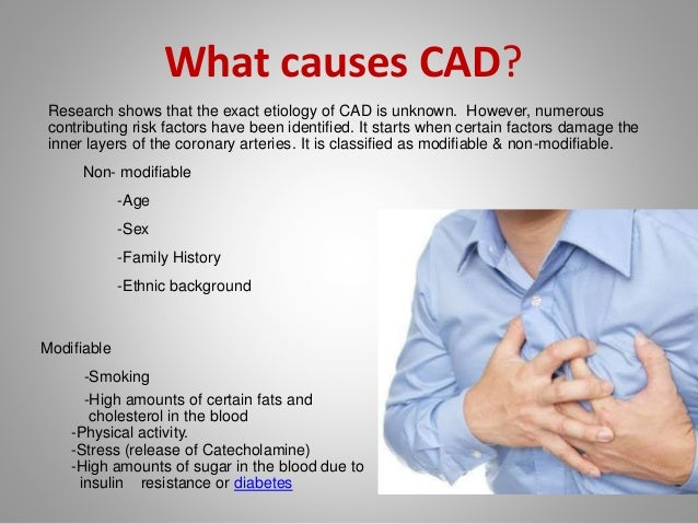 cornary artery disease Coronary artery disease (cad) is characterized by disease within the arteries  that supply the heart muscle the disease typically develops due to.