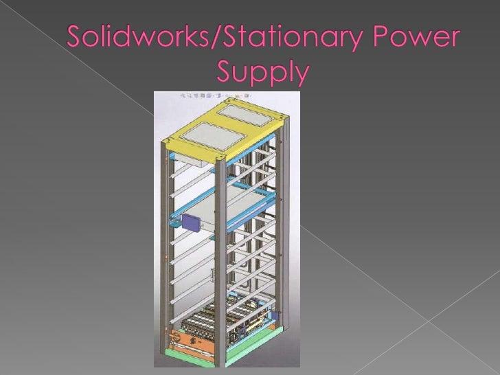 Powerpoint presentation using solidworks