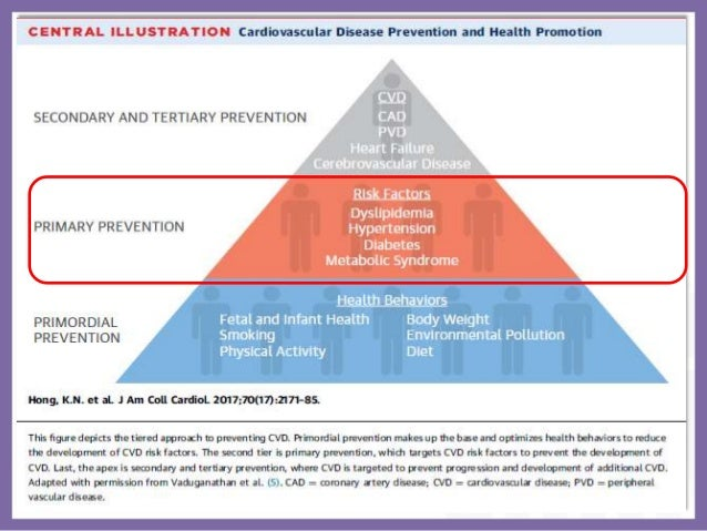CAD -RISK FACTOR MODIFICATION AND PRIMARY PREVENTION