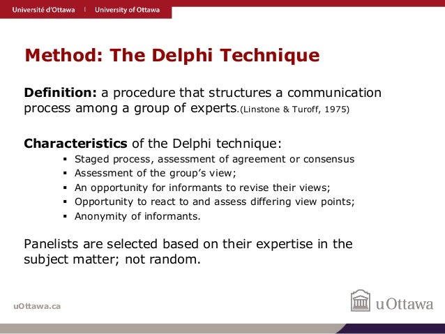 What is delphi method? definition and meaning ...