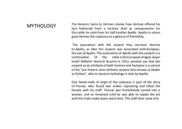 Caduceus The Visual Symbol Of Medical Profession By Dr Kabita Mishr
