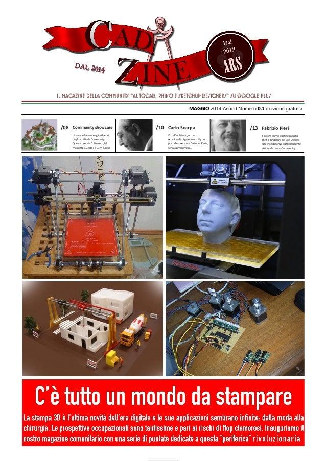 """11 Il magazine della Community """"AutoCAD, Rhino e SketchUp designers"""" su Google PlusIl magazine della Community """"AutoCAD, R..."""
