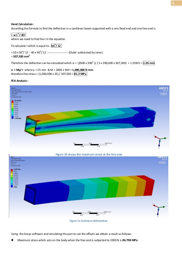 Beginner's idea to Computer Aided Engineering - ANSYS
