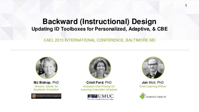 Cael 2015 Backward Instructional Design Updating Id Toolboxes Fo