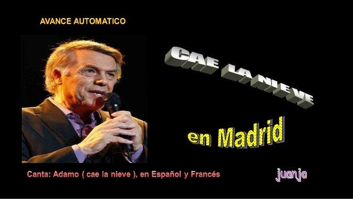 en Madrid juanjo
