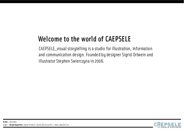 Welcome to the world of CAEPSELE                                        CAEPSELE_visual storytelling is a studio for illus...