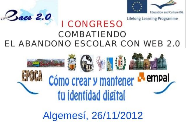 Algemesí, 26/11/2012