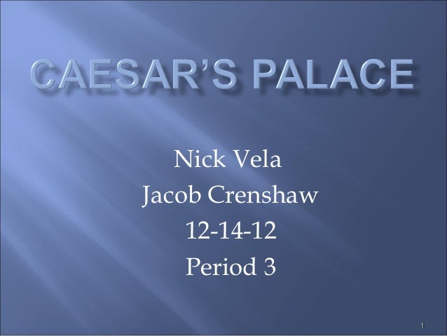 Nick VelaJacob Crenshaw    12-14-12    Period 3                 1