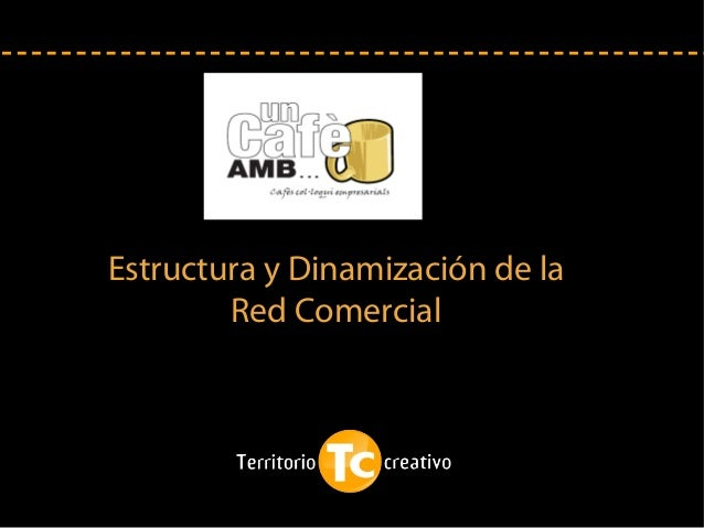 Estructura y Dinamización de la Red Comercial