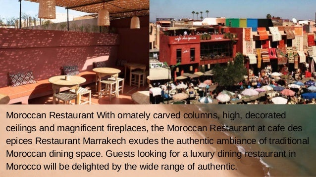 Marrakech Best Restaurants