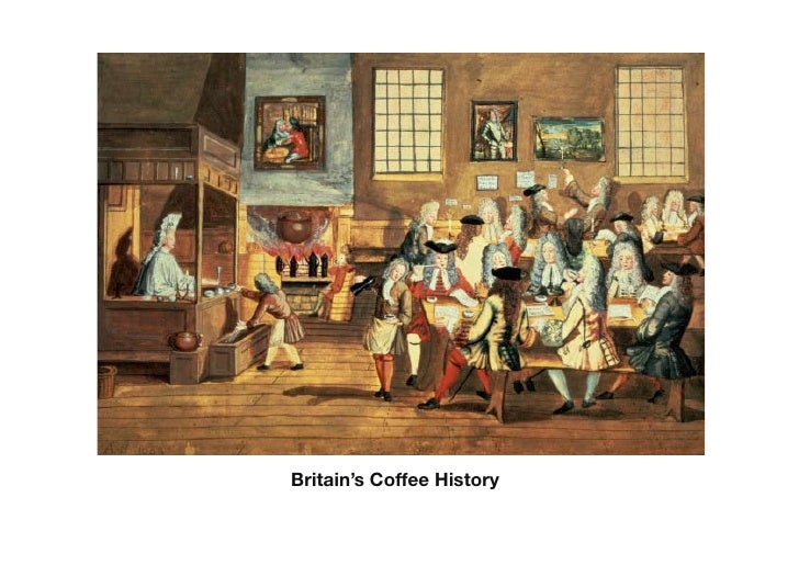 Britain's Coffee History