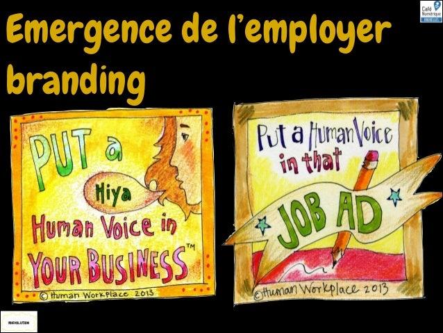 Emergence de l'employer branding