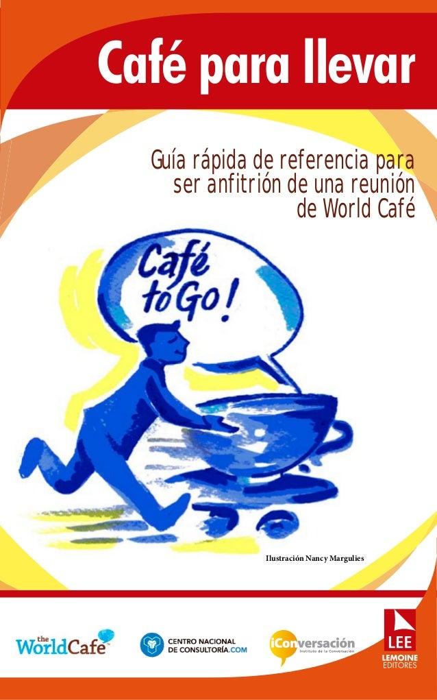 Caf para llevar for Cafe para llevar