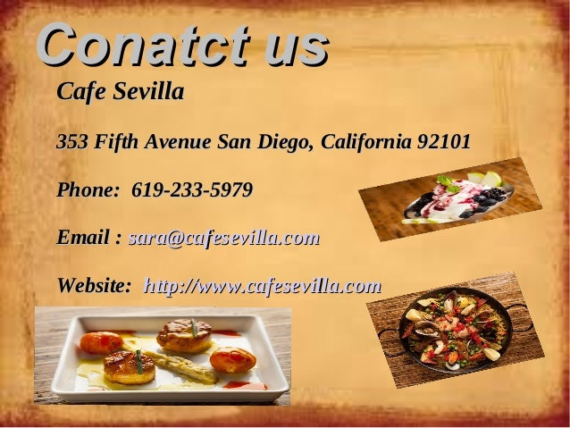 Best Spanish Restaurant In San Diego
